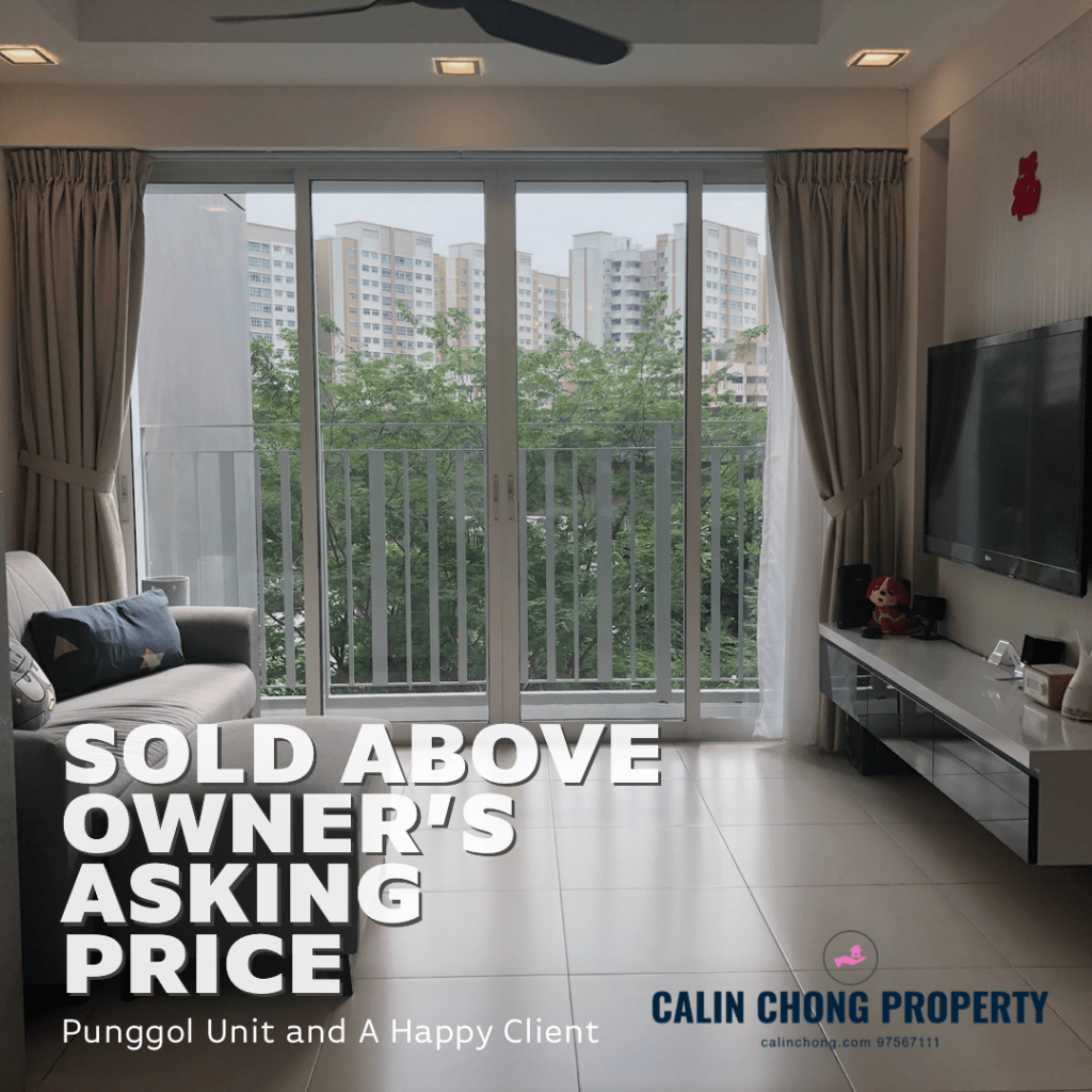 Calin Chong Property sold Punggol unit above selling price