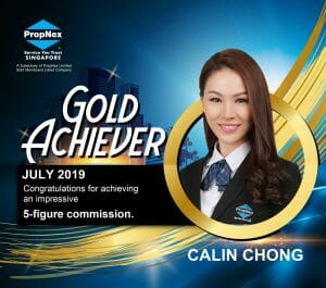 Calin Chong Gold Achiever Jul 2019